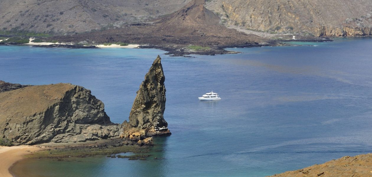Pinnacle Rock, Bartolome Island, Galápagos